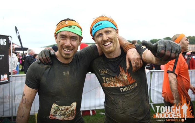 Brandworkz employees are some Tough Mudders