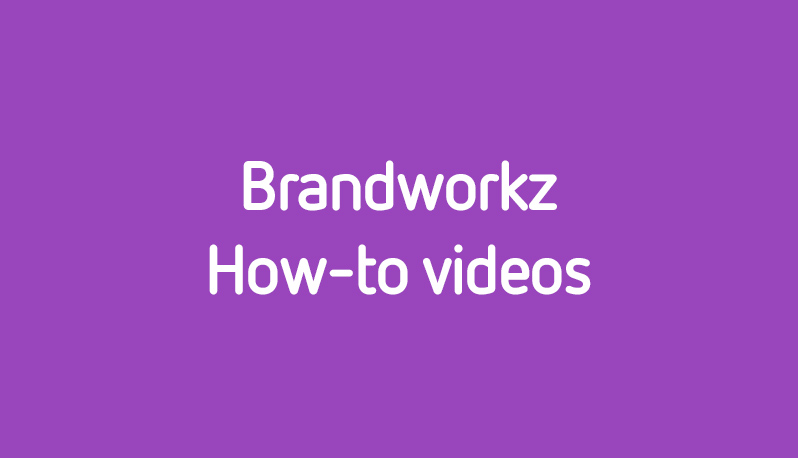Digital assets: How to use Brandworkz albums