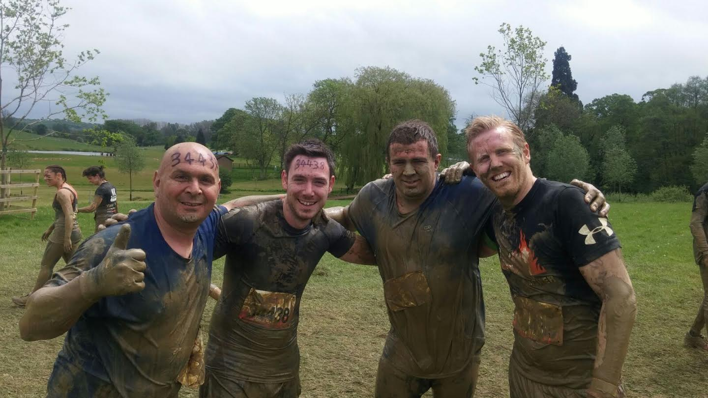 Half way round Tough Mudder