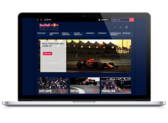 Red Bull Racing Homepage