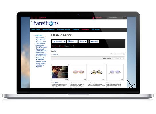 Transitions Optical Hub