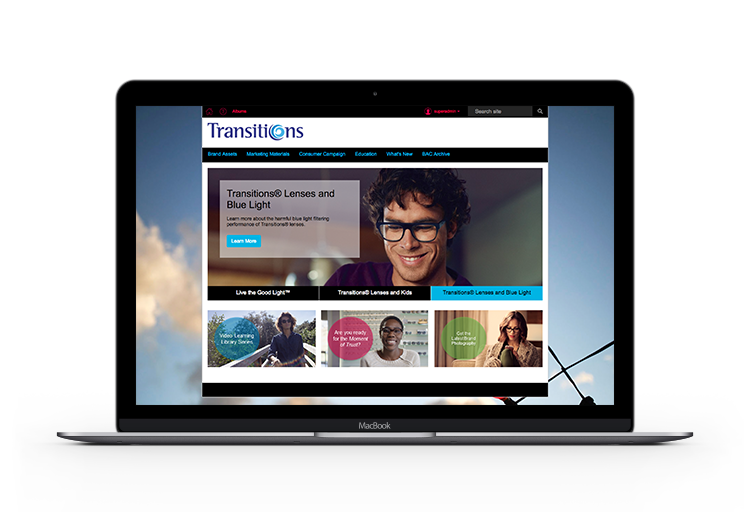 Transitions-Screen