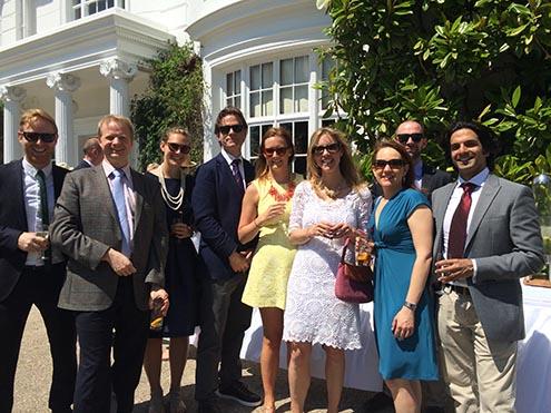 Brandworkz-team-and-clients-enjoying-the-sun