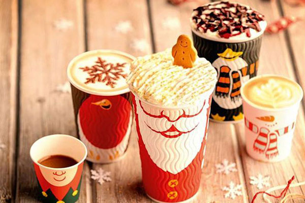 A branded cup of festive cheer