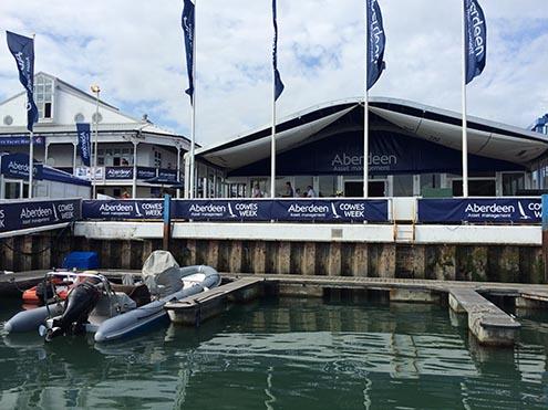 Docking-at-Cowes-Week