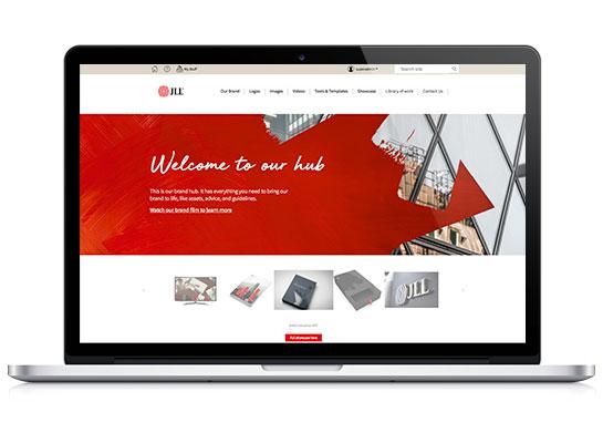 JLL Brand Hub