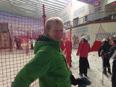 Jens Skiing