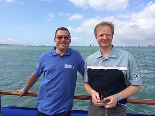 Jens-and-XXXX-at-Cowes-Week