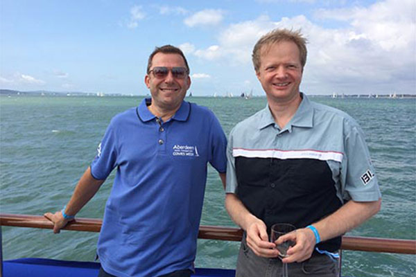Brandworkz's Jens Lundgaard sails off to Cowes week
