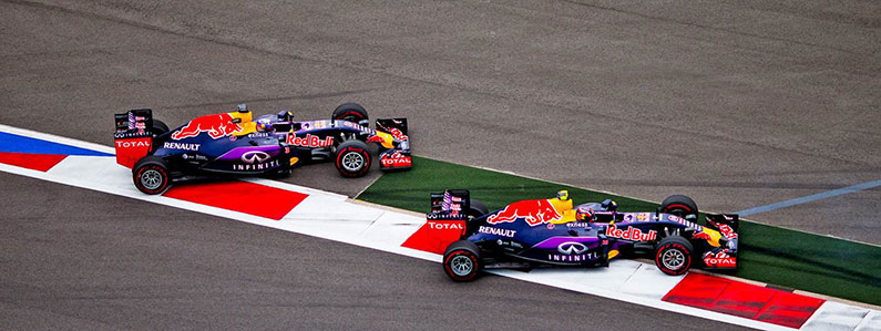 Red Bull Racing used Brandworkz for media sharing software