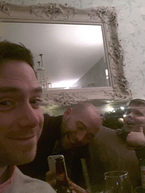 James with Neil and Andrew