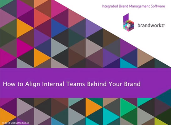 Align internal teams opening slide