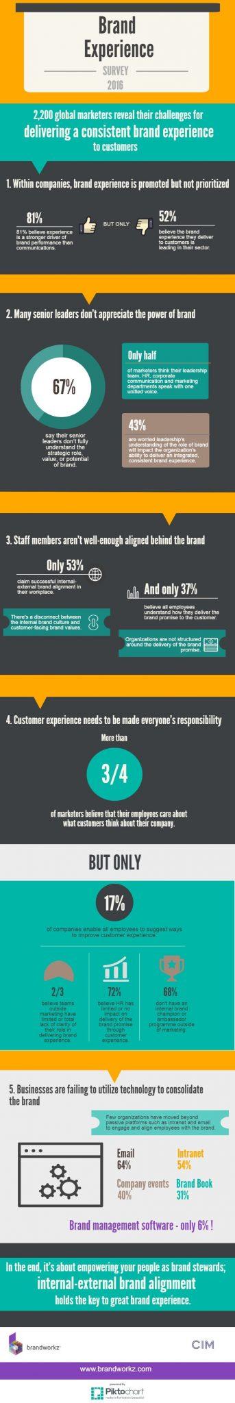 CIM Brand Experience Infographic