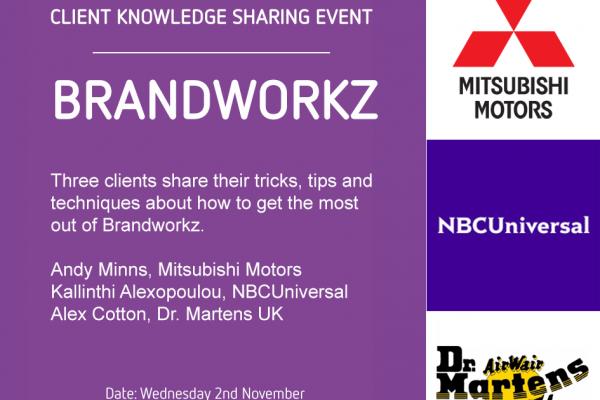 Brandworkz Client Knowledge Sharing Event