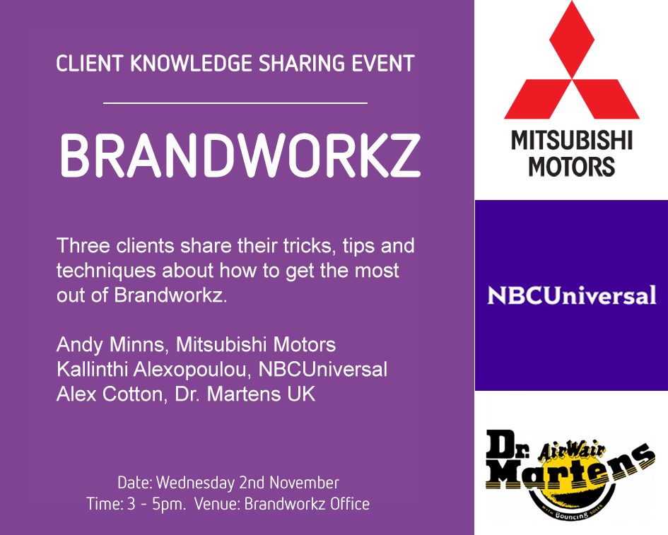 Come to our client knowledge sharing event!