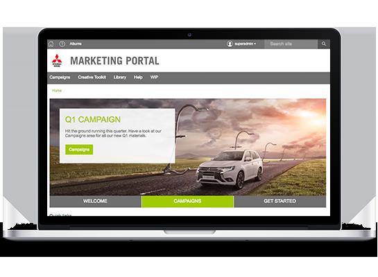 Mitsubishi Brand Portal