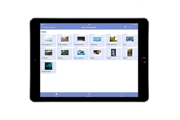 Brandworkz iPad app