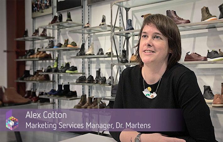 Dr Martens DAM testimonial