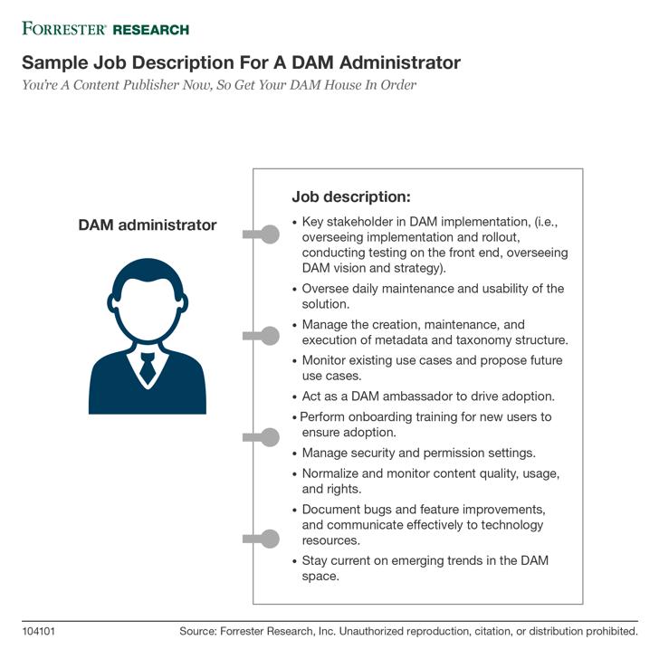 DAM Admin Job
