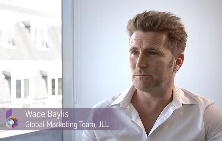 Wade Baylis JLL brand hub manager