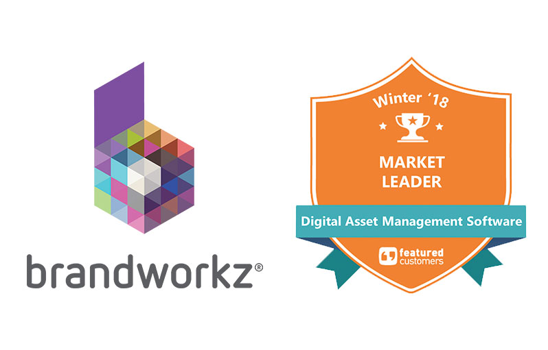 Brandworkz named Market Leader in the Winter 2018 Digital Asset Management Software Customer Success Report