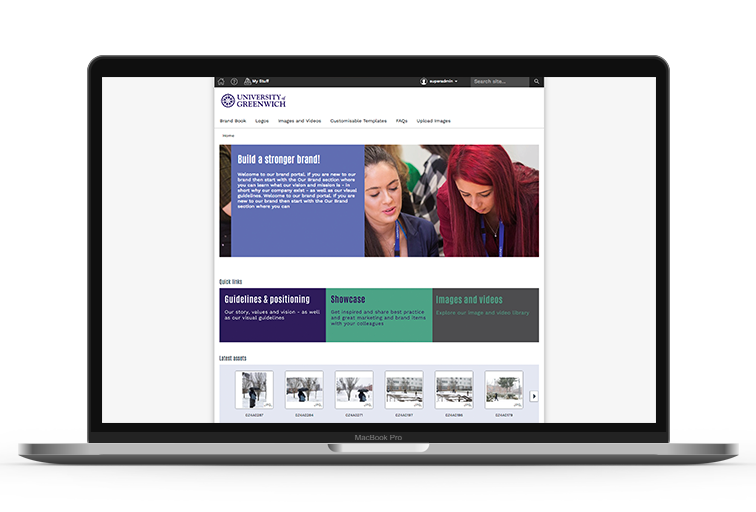 University of Greenwich Homepage