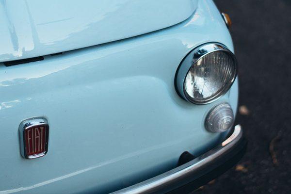 Fist-blue-car