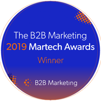B2B Marketing Winner Badge