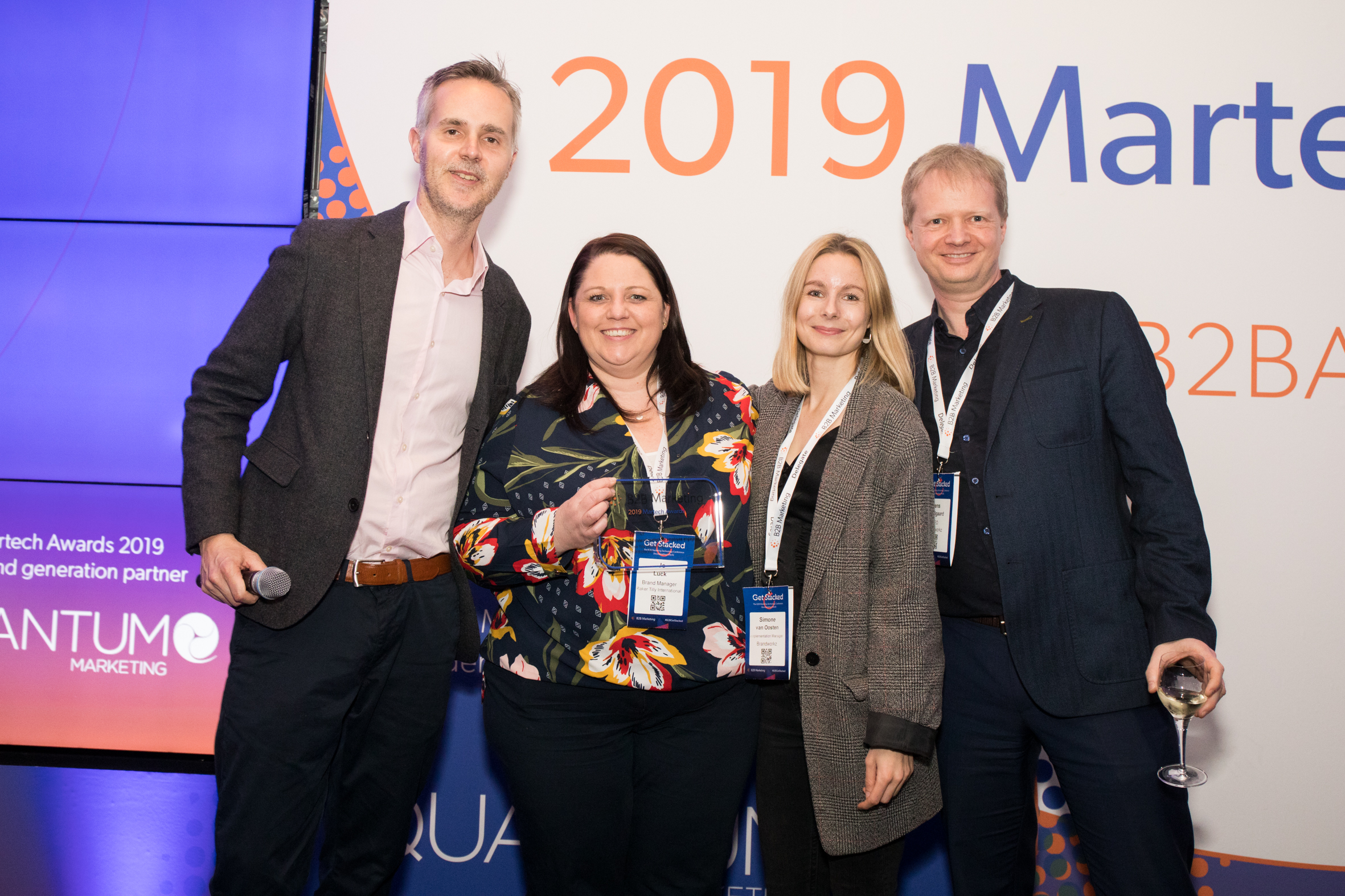The Winners B2B Marketing Awards