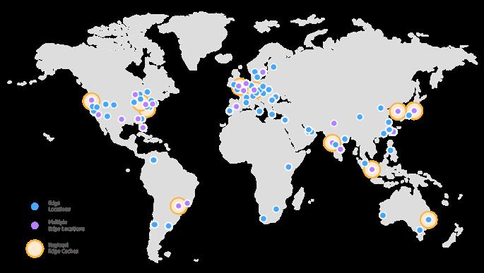 AWS world maps